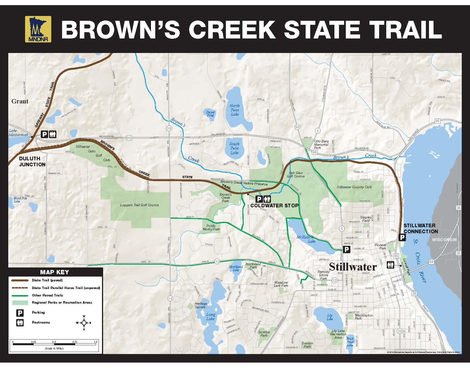 Gateway Brown's Creek Trail Association - Maps